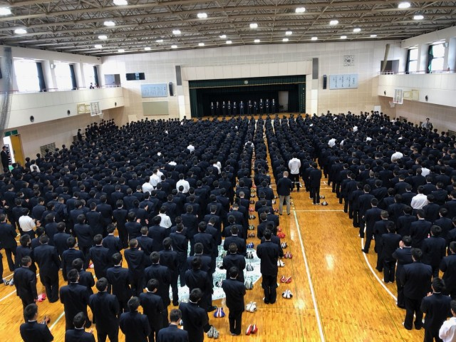 H30高校朝会①