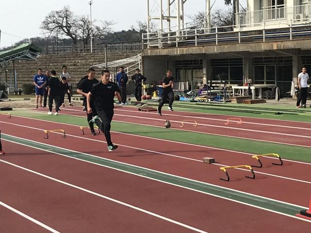 H31 中・高陸上競技部春季合同合宿1