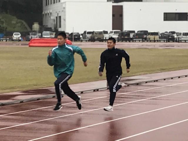 H31 中・高陸上競技部春季合同合宿3