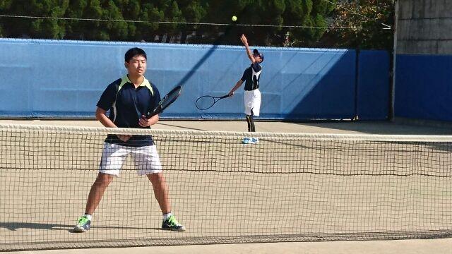中学テニス部+秋季団体戦②